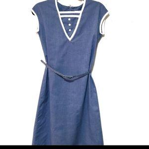 Vintage Harold Williams blue dress